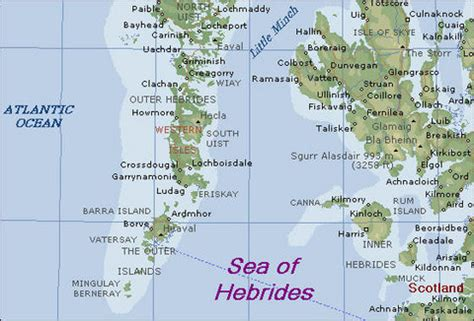the hebrides by the sea of the hebrides