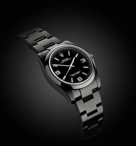 Rolex Oyster Perpetual: Candy Pink   Titan Black