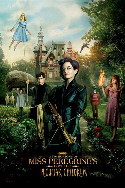 miss peregrine s home for peculiar children big