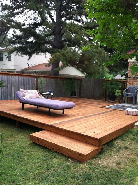 patio backyard ideas nice backyard deck ideas to increase your house selling