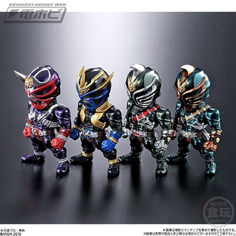 Fingerdoll Kamen Rider Kuuga Set 2 仮面ライダー converge シリーズ第5弾は 響鬼 と 龍騎 からラインナップ 精密彩色がますます冴えわたる 電撃ホビーウェブ