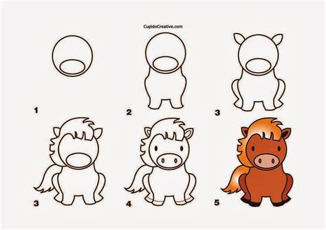 cara membuat montase untuk anak sd kerajinan anak menggambar kuda cupidocreativeblog