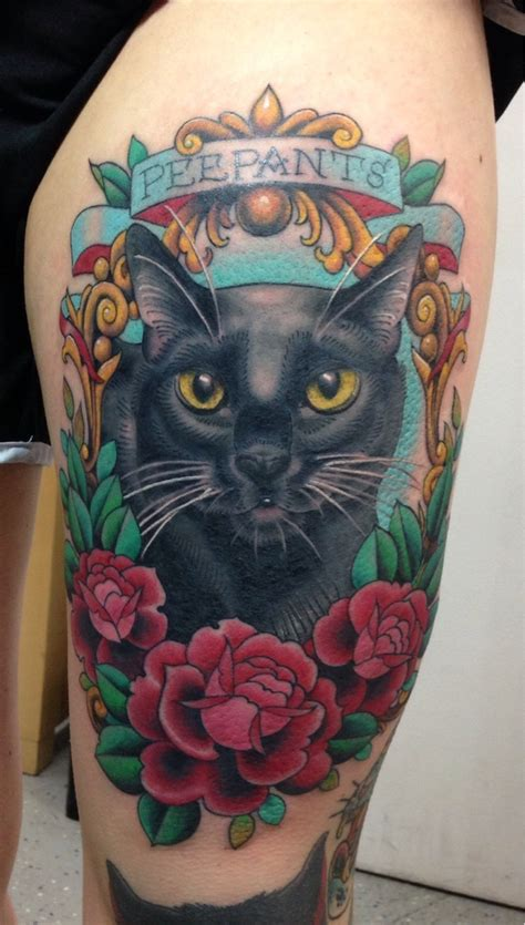 tattoo life magazine cat king fresh tattoo of my cat peepants done by megon shore