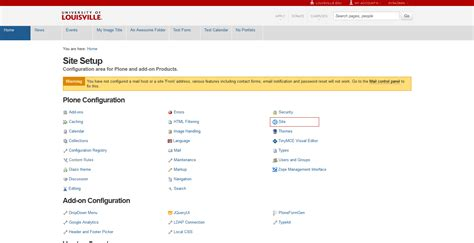 Uofl Mba Login by Site Title Plone 4 User Helpcenter