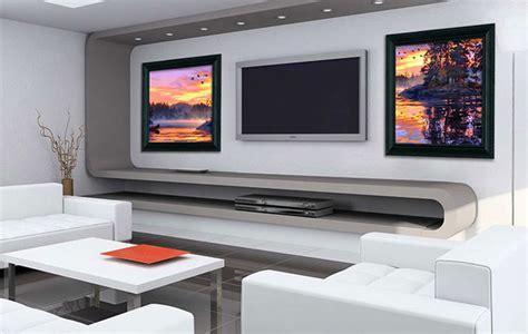 living room  sound art speakers modern living room
