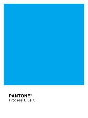 Pantone Color Blue Gallery For Gt Pantone Process Blue