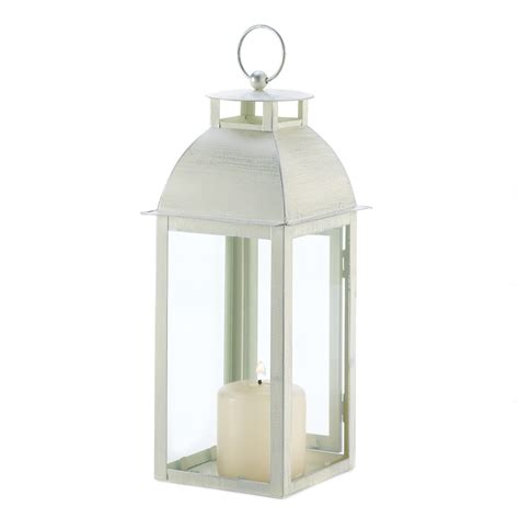wholesale distressed ivory candle lantern buy wholesale