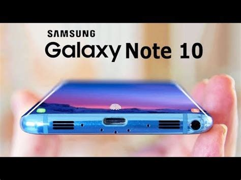 Samsung Galaxy Note 10 Specification by Samsung Galaxy Note 10 2019 Specs And Details