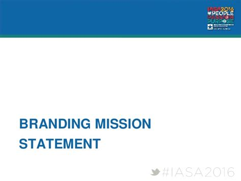 personal mission statement workshop