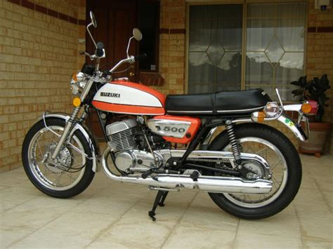 Classic Suzuki 1972 Suzuki T500j Classic Motorcycle Pictures