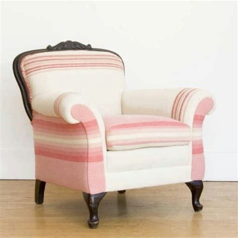 Pink Striped Armchair Pink Striped Chair I Like Pink Chairs