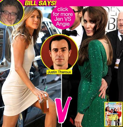 Brad Leave Angie Alone by Bill Says Leave Aniston Alone