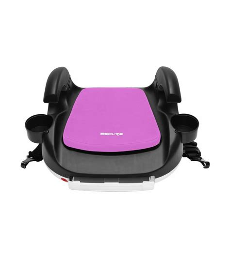 secure car seat booster secure rpm deluxe booster car seat with latch pink
