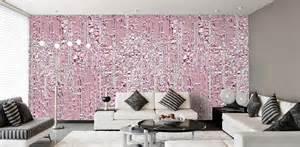 designtapeten in rosa pink