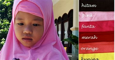Jilbab Pita Anak Kerudung Anak Bahan Nyaman Tidak Panas K2201 kerudung anak lucu murah berkualitas 081372507000 beli 1 gratis 1 inner griya raditya