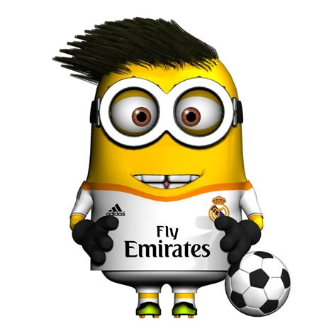 imagenes de real madrid minions minion bale by darkimothep on deviantart