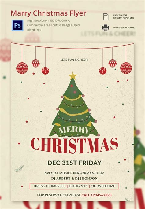 christmas program template 30 free templates designs psd word free premium templates