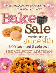 Bake sale flyer templatepinclout com templates and resume pinclout