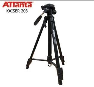 Tripod Paling Murah spesifikasi tripod attanta kaiser 203 dan detail harganya review harga kamera terbaru dan