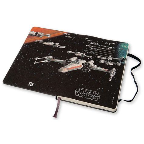 2016 moleskine star wars b00o80wcq8 moleskine star wars large 2016 18 month planner 8052204401628 calendars com