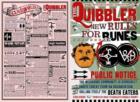 printable quibbler cover quibbler page by jhadha on deviantart l u m o s