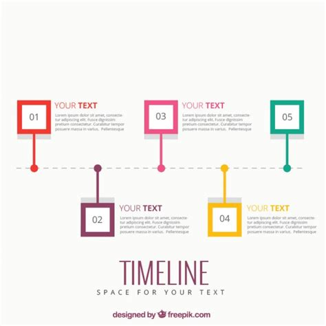 Timeline Infographic Template Vector Free Download Free Templates For Timelines