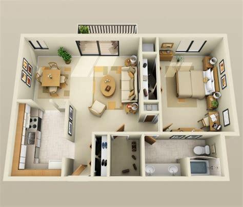 plan 3d chambre plan 3d appartement 1 chambre 25