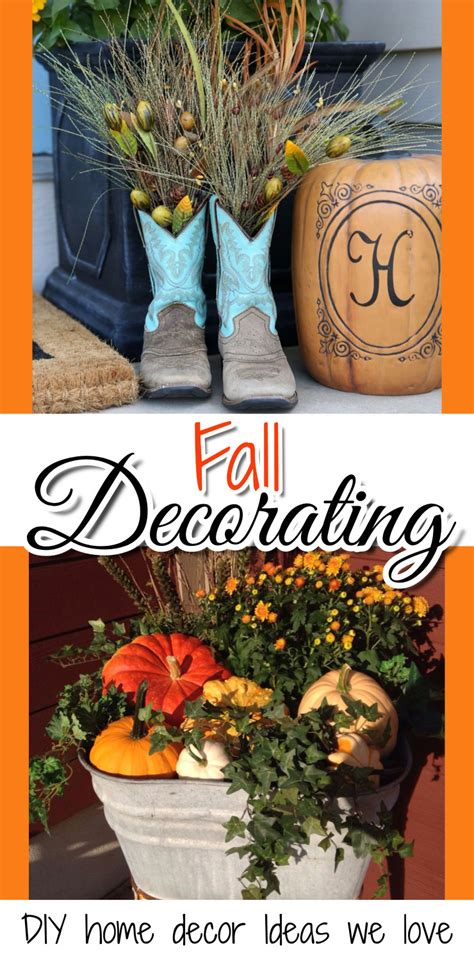 Fall Decorations For The Home Diy Fall Decor For The Home And Fall Crafts We Involvery Community