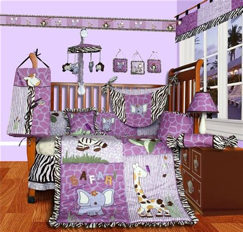safari baby bedding baby boutique safari 15 pcs girl nursery crib bedding ebay