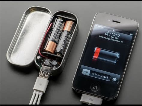 how to make a portable phone charger how to make a portable usb cell phone charger