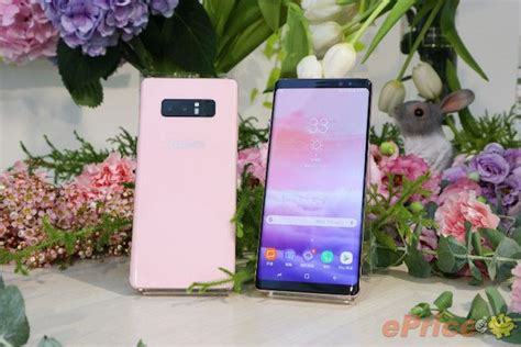 Samsung Note 8 Pink Pink Galaxy Note 8 Releasing In Taiwan
