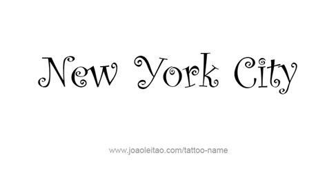 tattoo fonts new york new york city name tattoo designs tattoos with names