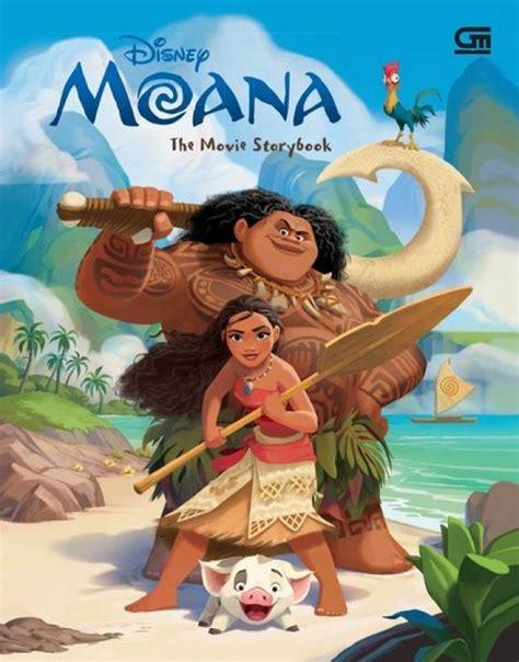 film disney rekomendasi bukukita com moana the movie storybook toko buku online