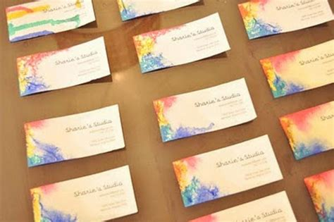 how to make business cards at home 60 diy business cards design your own business cards