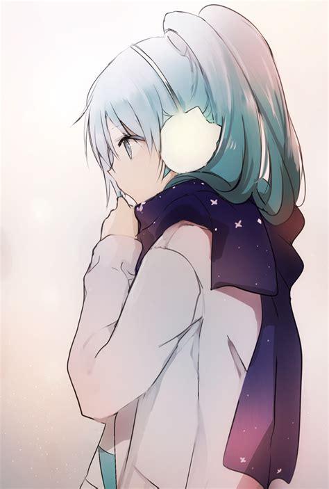 Jaket Anime Vocaloid Miku Chidoriheartles 1 adorable anime anime blue hair drawing