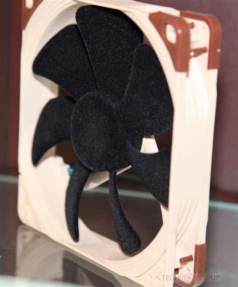 noctua 14 series 120mm fan noctua unveils its flocked surface fans techpowerup