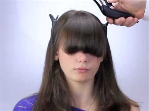 wahl haircut tutorial how to cut bangs and fringes the new way with freestyla