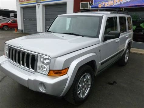 automotive air conditioning repair 2008 jeep commander interior lighting purchase used 2007 jeep commander base sport utility 4 door 3 7l in vandalia ohio united states