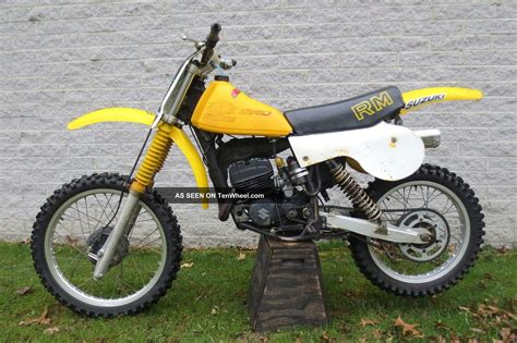 Suzuki 125 Trail Bike 1979 Suzuki Rm125 Motocross Racer Trail Bike Ready To Ride