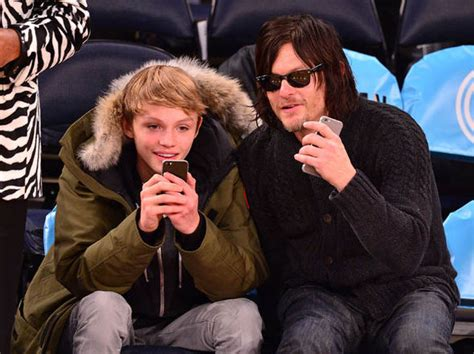 does norman reedus have a girlfriend who is norman reedus wife son net worth and more tv