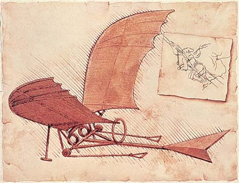 leonardo da vinci biography flying machine who invented the airplane poll please read the text