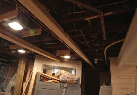 best unfinished basement ceiling ideas on a budget modern