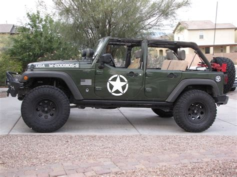 jeep wrangler military decals jk tires questions for upgrade jeep wrangler forum