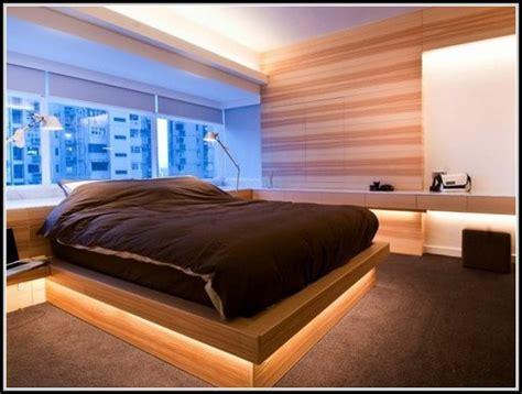 beleuchtung bett indirekte beleuchtung schlafzimmer bett page