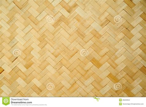 Handcraft Design - pattern and design of thai style bamboo handcraft stock