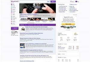 www yahoo home page yahoo redesigns webdesigner depot