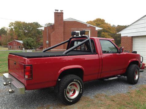 dodge dakota v8 horsepower 1989 dodge dakota 360 v8 4x4 supertruck w nitrous