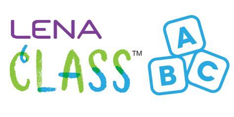 lena launches class  program  close  word gap