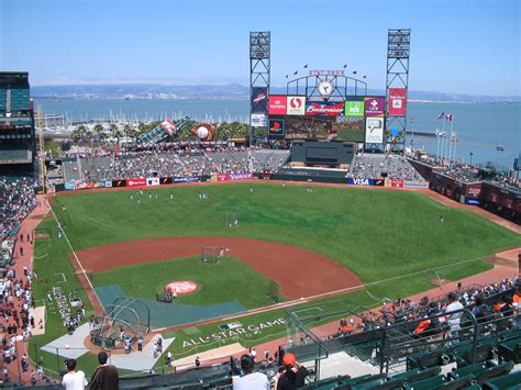 pac bell park seating sf giants seating chart with row and seat numbers