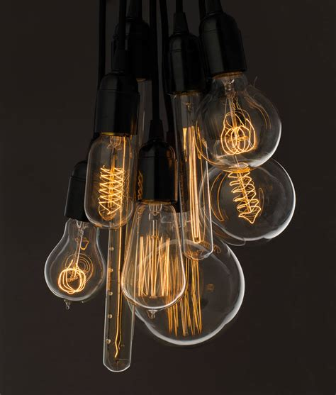 retro lights vintage light bulb by dowsing